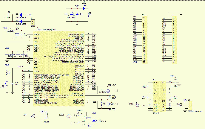 Modul Et Stm32 Stamp Mcu Mikroelektronika