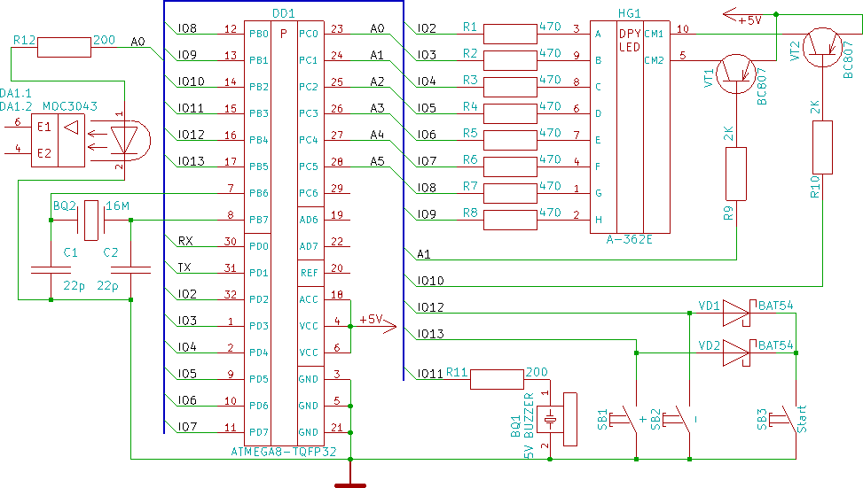 Arduino Project #21 - Sports Timekeeper - APC