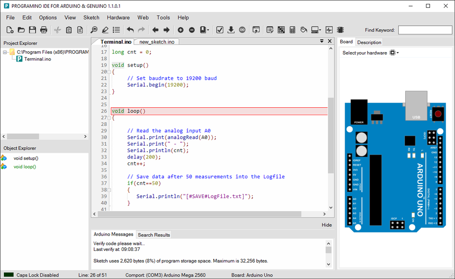 Arduino support package baud rate - MATLAB Answers
